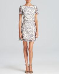 Tory Burch Leaf Lace Dress - Lyst