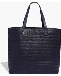 Madewell The Quilted Transport Tote - Lyst