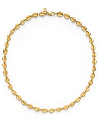 Tory Burch Mikah Simple Necklace - Lyst