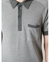 Dolce & Gabbana Short Sleeve Polo Shirt - Lyst