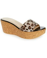 Callisto 'In The Bag' Wedge Platform Sandal - Lyst