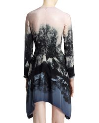 Stella McCartney Fireworks Hampstead Printed Dress Blackblushmulti - Lyst