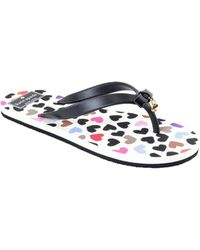 Kate Spade Patterned Thong Sandals - Lyst