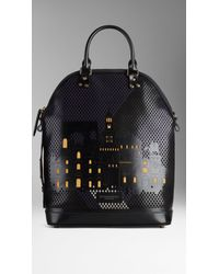 Burberry The Small St Ives with City Motif - Lyst