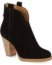 Nine West Cally Heeled Ankle Boots - For Women - Lyst