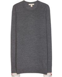 Burberry Brit Wool Sweater - Lyst