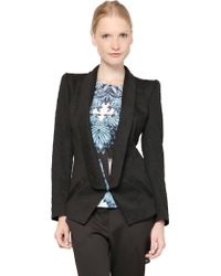Gaowei+Xinzhan - Fitted Tuxedo Jacket - Lyst