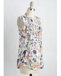 Magazine Clothing Co., Inc. - On Your Roam Time Tunic In Spring Blooms - Lyst