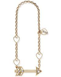 Lanvin '125 Charms' Arrow Pendant Necklace - Lyst