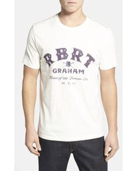 Robert Graham 'Rbrt' Graphic T-Shirt - Lyst