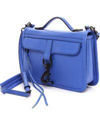 Rebecca Minkoff Bowery Cross Body Bag - Ultraviolet - Lyst