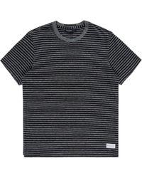 Paul Smith | Men's Black Tonal-stripe T-shirt | Lyst