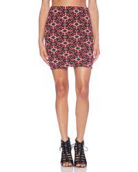 Tigerlily La Ponche Tube Skirt - Lyst