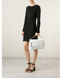 Jimmy Choo Ally Leather Shoulder Bag - Lyst