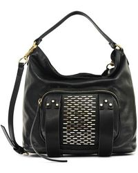 She + Lo - 'next Chapter' Studded Hobo Bag - Lyst