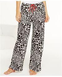 Hue Shadow Leopard Pajama Pants - Lyst