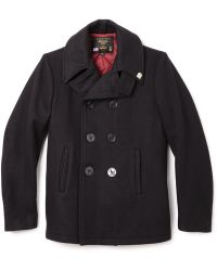 Gerald & Stewart - Quilted Peacoat - Lyst