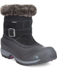 The North Face Womens Chilkat Iii Pull-on Boots - Lyst