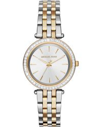 Michael Kors Women'S Mini Darci Two-Tone Stainless Steel Bracelet Watch 33Mm Mk3405 - Lyst