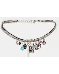 Asos Trinket Choker Necklace - Lyst