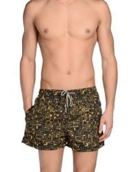 Piombo - Swimming Trunk - Lyst