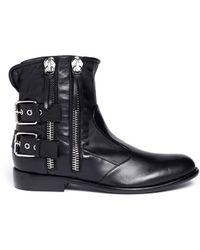 Giuseppe Zanotti - Morrison Multi-zipper Boots - Lyst