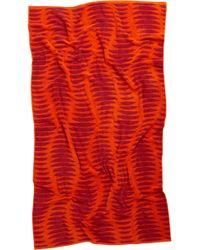 Natori | Ribbed Beach Towel | Lyst