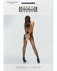 Wolford Individual 12 Stay-Hip Tights - Lyst