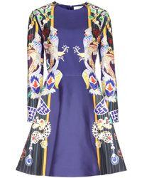 Mary Katrantzou Chrono Totem Printed Dress - Lyst
