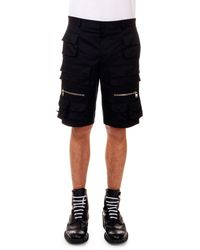 Givenchy Cargo Shorts With Zip Pockets - Lyst