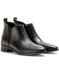 MICHAEL Michael Kors Brandy Leather Ankle Boots - Lyst