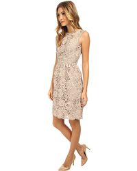 Kate Spade Floral Lace Sheath Dress - Lyst