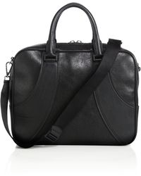 Alexander McQueen | Water Buffalo Leather Briefcase | Lyst