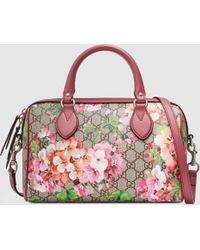 Gucci | Blooms Gg Supreme Top Handle Bag | Lyst