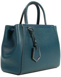 Fendi Handbag 2 Jours Small Leather - Lyst