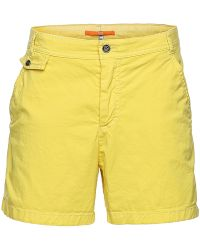 BOSS Orange - Comfort-fit Shorts In Pre-worn Look: 'sochina-d' - Lyst