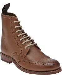 Foot The Coacher - Ella Brogue Boot - Lyst