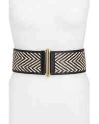 Vince Camuto - Woven Stretch Belt - Lyst