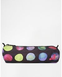 Roxy - Off The Wall Multi Colored Pencil Case - Lyst