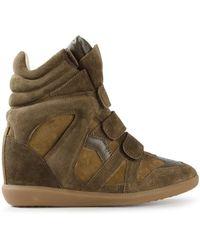 Isabel Marant Bekett Wedge Sneakers - Lyst
