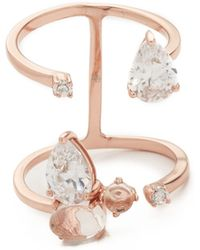 Samantha Wills - Blossom Grand Ring - Rose Gold/clear - Lyst