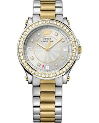 Juicy Couture Women'S Two-Tone Stainless Steel Bracelet Watch 38Mm 1901234 - Lyst