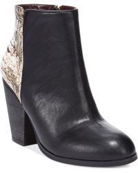 Report Signature Orchid Ankle Booties - Lyst