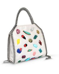 Stella McCartney Falabella Small Fold-Over Tote Bag - Lyst