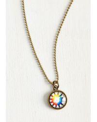 Beijo Brasil - Color Wheels In Motion Necklace - Lyst