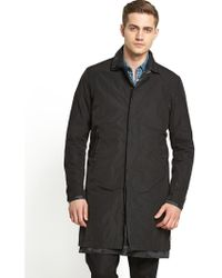 G-star Raw Mens Ainsdock Double Trench Coat - Lyst