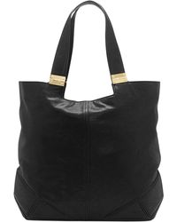 Vince Camuto Black Kyle Tote - Lyst