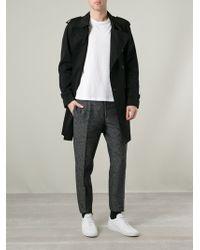 Fendi Tweed Trousers - Lyst