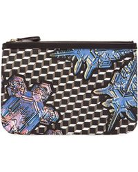 Pierre Hardy | Canvas Crystal Cube Print Pouch | Lyst