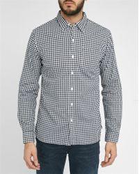 Levi's | Blue Sunset Pr Checked Shirt | Lyst